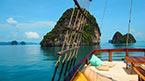 Med MV Phuket Champagne til sjøs