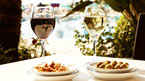 Historiske Alcudia og vinsmaking