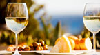 Oliven og vin – en perfekt kombinasjon – kan bestilles hjemmefra